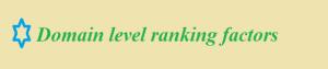 domain-level-ranking-factors