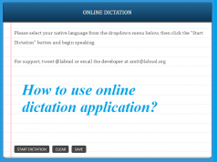 online dictation