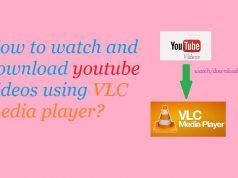 how to watch and download youtube videos on VLC media player