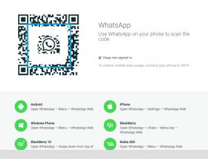 whatsApp scan QR code