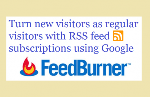 RSS feed subscriptions