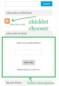 feedburner email subscription completed