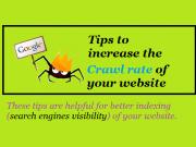 increase crawl rate
