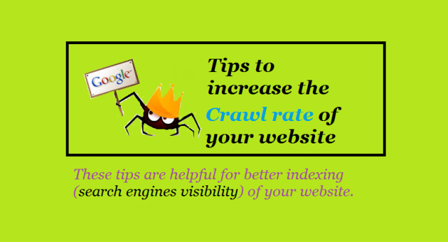 increase crawl rate