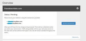 verification status pending