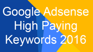 High Paying keywords