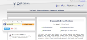 Top 10 Free Working list of best Temporary Email Service