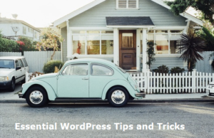 essential wordpress tips