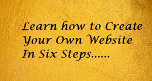 create-own-profissional-website