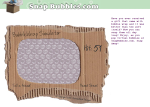 snap bubbles