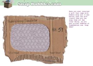 snap bubbles