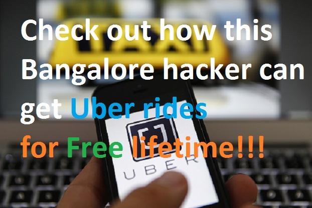 Bangalore Techi reveals 'easy trick' to get free Uber rides