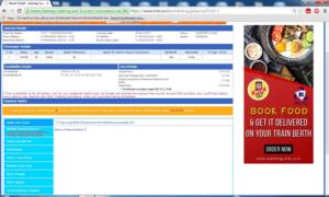 IRCTC Booking 3