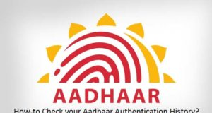Aadhaar Authentication History